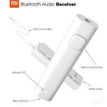 Оригинальный Xiaomi Bluetooth 4.2 аудио приемник портативный проводом к Беспроводной медиа-адаптер для 3.5 мм наушники гарнитуры Динамик автомобиля AUX