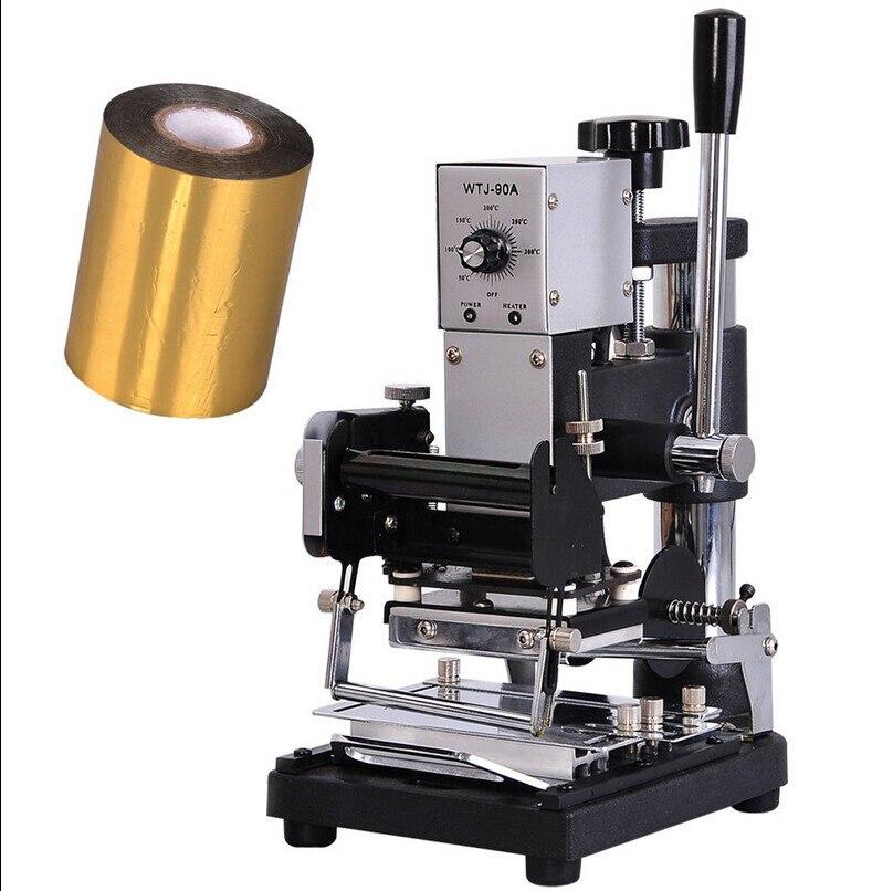 Free Shipping Foil Stamping Machine Tipper  220 V / 110 V Foil Machine Hot Foil Stamping Machine