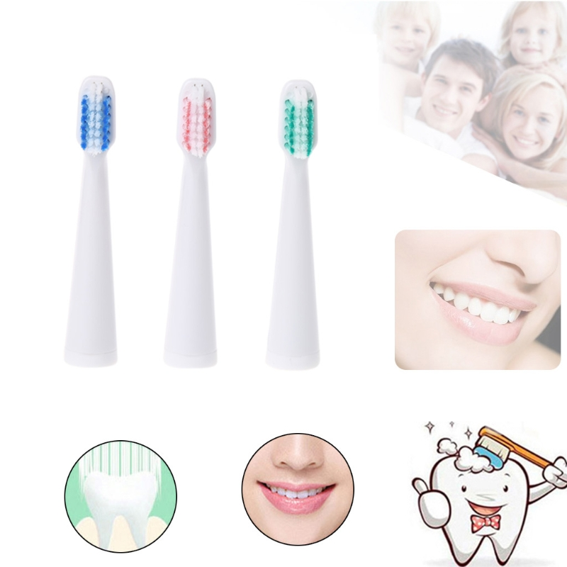 Brand High Quality 1pc Tooth brush Replaceable heads for TB-003 Electric Toothbrush Head Replacement head replaceable 1mhz
