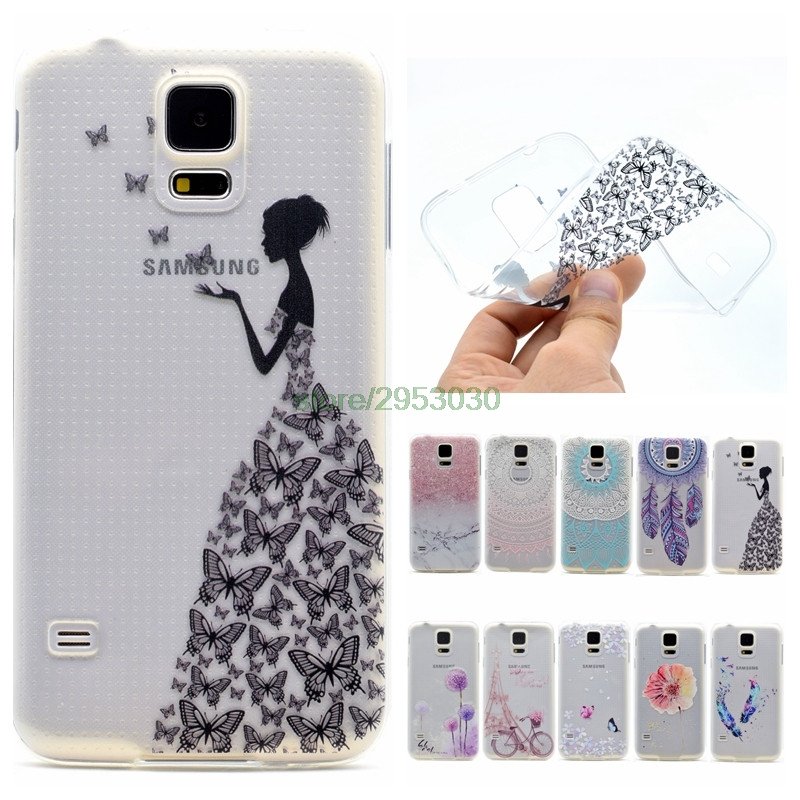 TPU Case For Samsung Galaxy S5 S 5 g900f sm-g900f Silicone Phone Cases For Samsung Galax ...