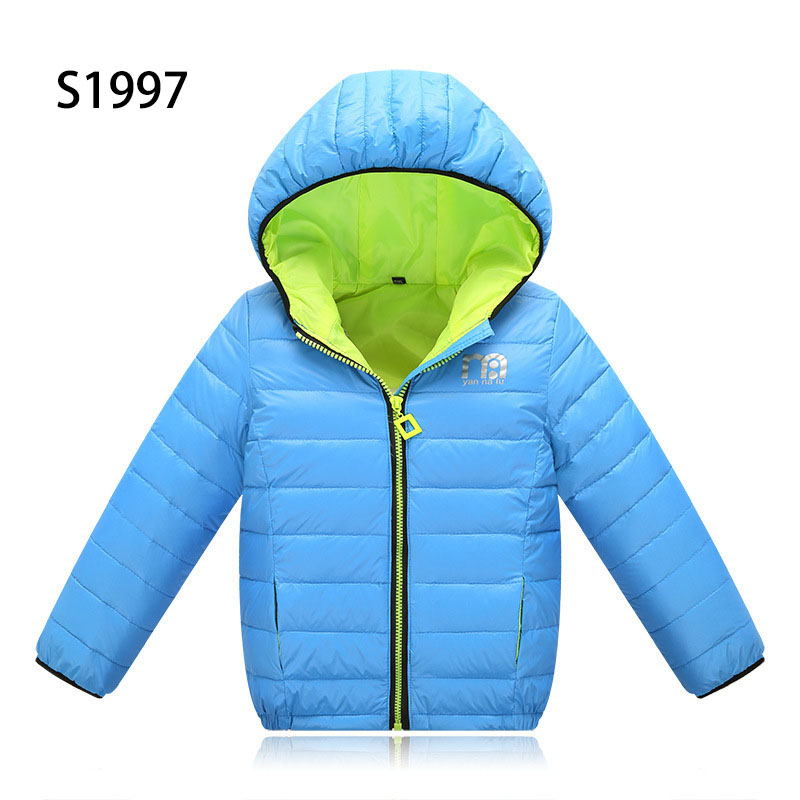 Fashion Kids Cute Boys Cartoon Letter Parkas For 5-14T Children Outerwear Clothing Casual Baby Boy Girls Hooded Zipper Warm Down corn bran baby crib bassinet 14 colors for choosing for 0 6 months little kids cradle cute and fancy for boys or girls hot