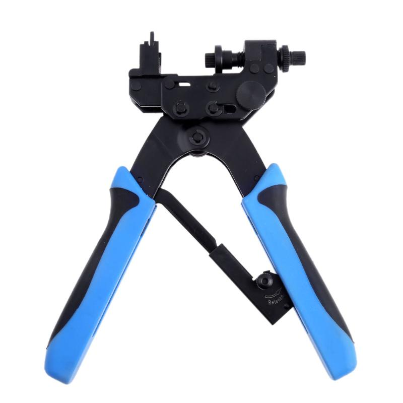 цена на F Type Cable Pliers Heavy Duty Coaxial Cable Compression Crimper Crimp Tool for RG59 RG6-F BNC RCA Crimping Plier
