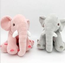 WYZHYDown cotton elephant dolls Creative plush toys to send friends children birthday gifts 20CM цена в Москве и Питере