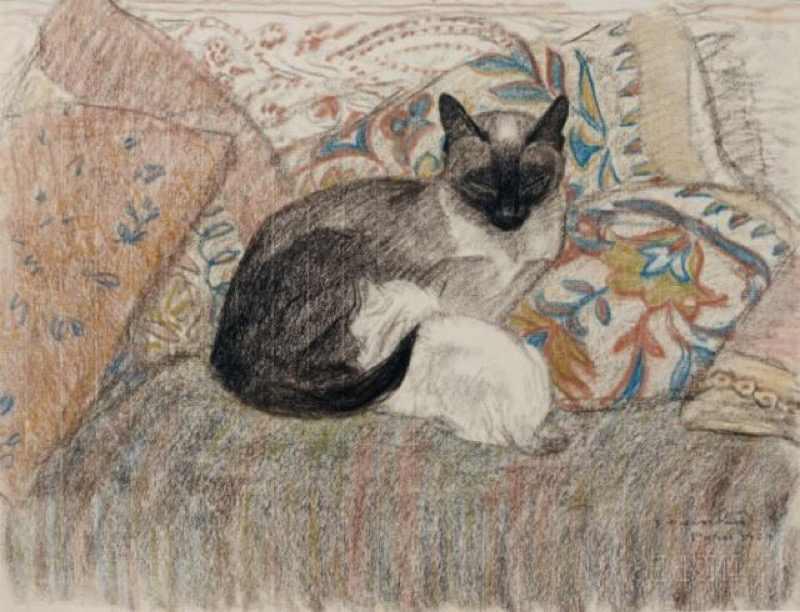 Винтаж Steinlen кошка иллюстрация чат Нуар Ретро плакат Холст Картина DIY обои плакаты украшения для дома подарок