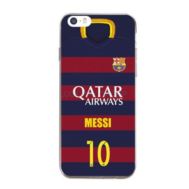 For IPhone 5 5S SE 6 6S 7 Plus Case Design Footballer Ronaldo Messi Hart Neymar Jersey Silicone soft slim Tpu Phone Cover