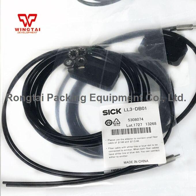 SICK LL3-DB01 Optical Fiber Cable 2m sick lsi101 112