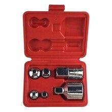 6 шт. многофункциональная розетка Редуктор комплект Воздушный ударный адаптер конвертер для гаечных ключей и трещоток