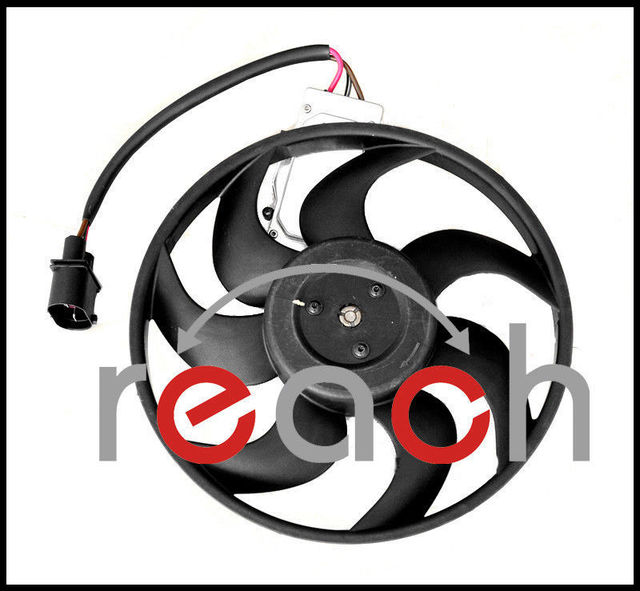 New Driver Left Side Cooling Fan For Audi Q7 Volkswagen Touareg 7L0959455F