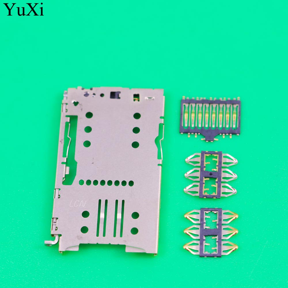 YuXi 1 Set For <font><b>Meizu</b></font> MX5Pro MX5 pro M3 <font><b>Note</b></font> Meilan matel <font><b>M2</b></font> M3 M3S <font><b>Sim</b></font> Card <font><b>Tray</b></font> Reader Module Slot Holder Socket image