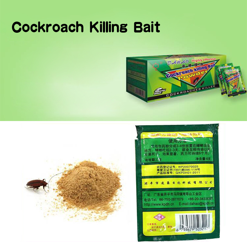 1pc Powerful Effective Cockroach Killer Killing Bait  Ants Bait Pest Control Cockroach Repellent Powder Dropshipping