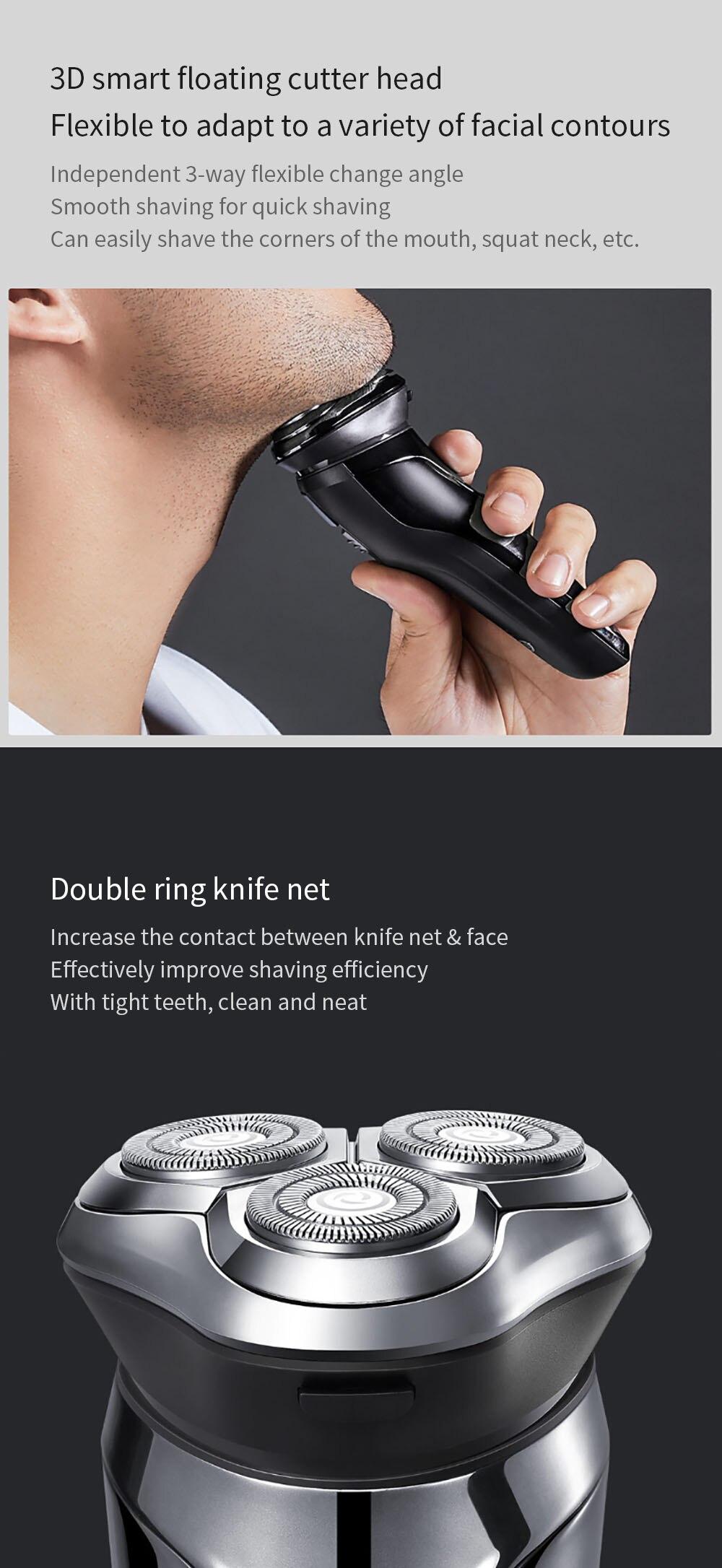 Máquina de afeitar Xiaomi Soocas SO White 3D