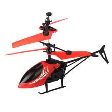 Yiqu летающий мини rc infraed индукции вертолет мигающий свет toys for kid