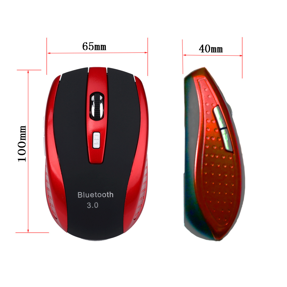 Image 5 - HXSJ Bluetooth 3.0 Wireless Mouse Ultra Thin Wireless Mouse for Windows 7/8.0/8.1/10/for vista,for Android for Mac os-in Mice from Computer & Office