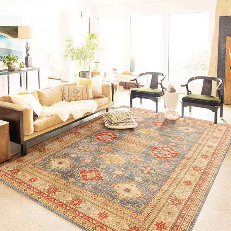 Luxurious Vintage Design Persian Carpet Hal American