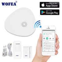 2.4G smart sécurité à la maison sécurité système d'alarme wifi Android/IOS APP Smartphone App hôte intelligent V10