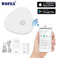 2,4G умный дом безопасности дома безопасности wifi сигнализация Система Android/IOS приложение в телефоне приложение умный хост V10