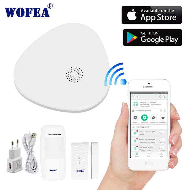 2.4G Smart Home Security Home Security Wifi Alarmsysteem Android/Ios App Smartphone App Smart Host V10