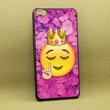 Funny Queen Emoji Hot Sale Fashion High Quality Black Bag Case For HTC X9