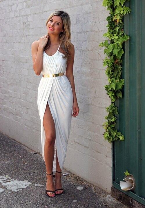 Aliexpress.com : Buy Casual Long summer beach dress Kleider Woman ...