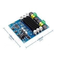 2x120 w potência bluetooth duplo canal módulo amplificador digital tpa3116d2 XH M548 amplificador de áudio