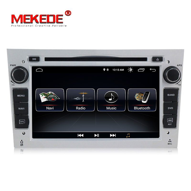 Silver colour Android car dvd player fit for Vauxhall Opel Astra HG Vectra Antara Zafira Corsa