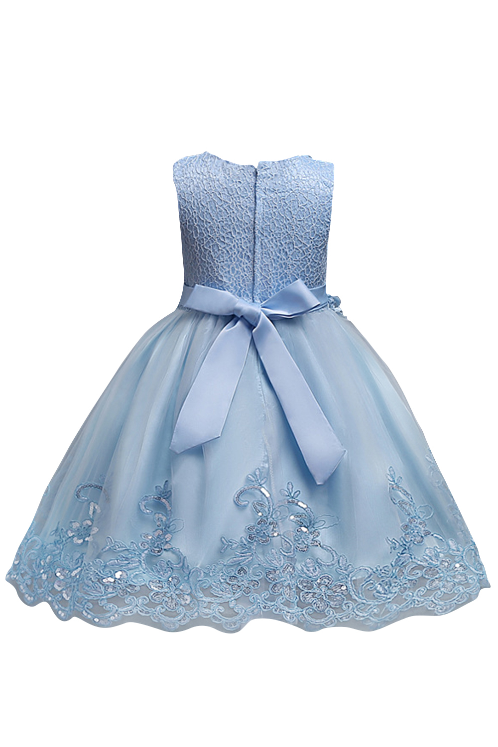 Pears Princess Girls Christmas Birthday Party Dresses Light Blue ...