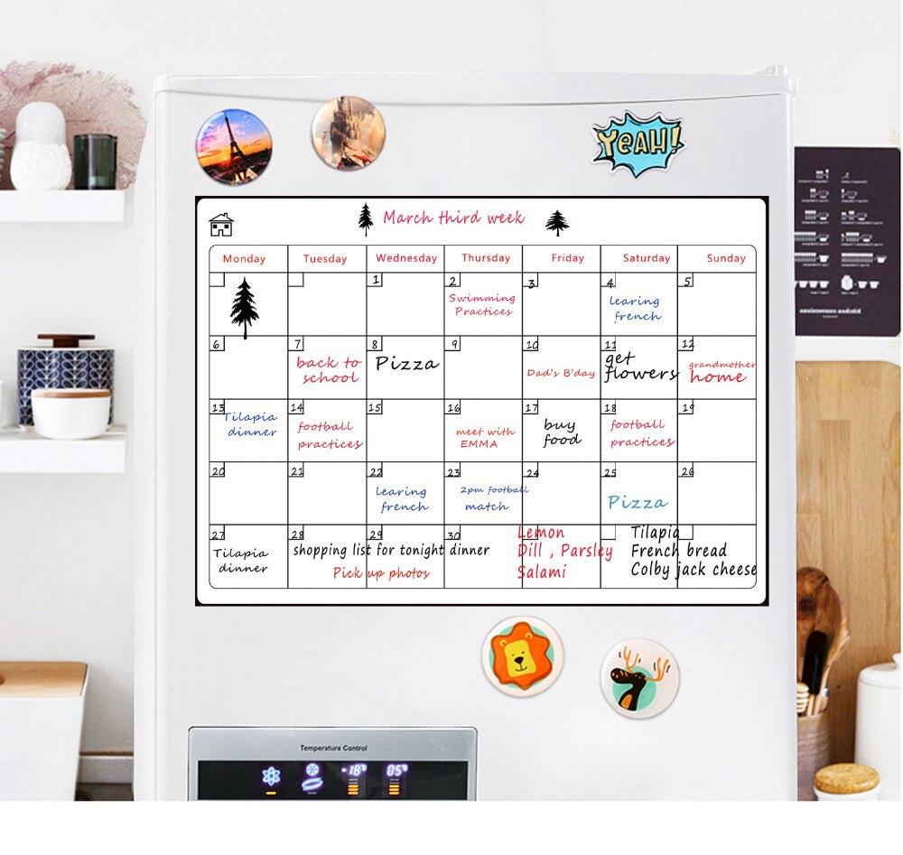 De Geladeira de Calendário mensal 16.5 x
