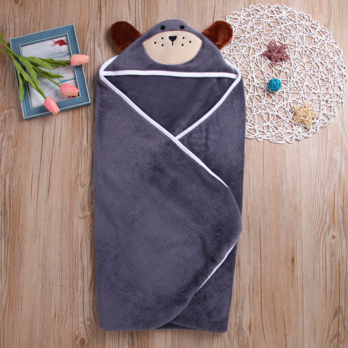 KöStlich Baby Jungen Mädchen Nette Tiere Ohr Handtuch Decke Nachtwäsche Pyjama Neugeborenen Baby Hoodie Bad Robe Flanell SchöNe Lustre
