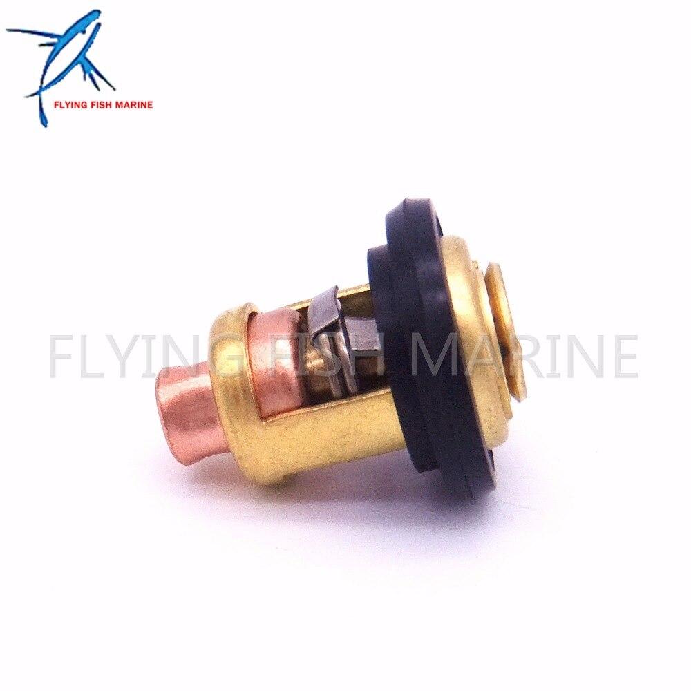 6E5-12411-02 6E5-12411-00 6E5-12411-10  Boat Engine Thermostat for Yamaha 2 Stroke 15HP 25HP 30HP 40HP -220HP Outboard Motors,FS