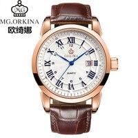ORKINA Watches Men Watch Luxury Brand Analog Men Military Watch Reloj Hombre Whatch Men Quartz Curren