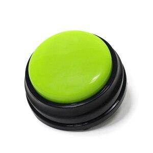 Бесплатная доставка, маленький размер, легко носить с собой, голосовая запись, звуковая кнопка для детей, Интерактивная игрушка, кнопка отве...