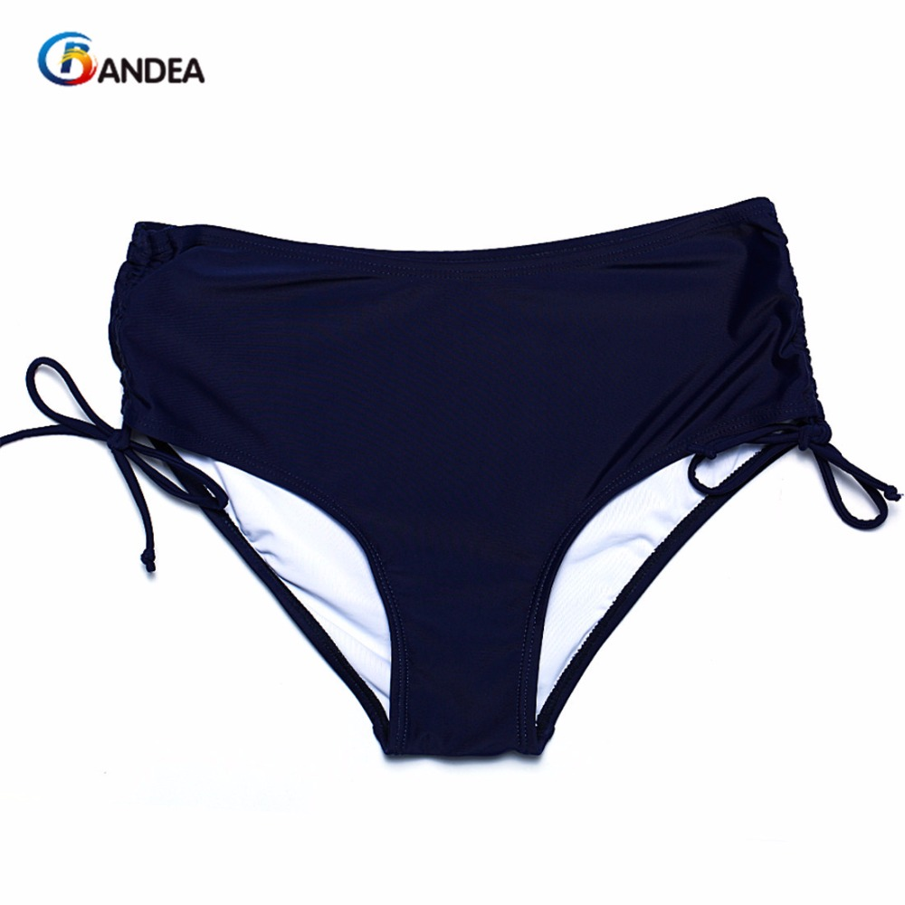 BANDEA sexy solid brazilian bottom women swimwear sexy solid bottom briefs swimsuit panties underwear two pieces