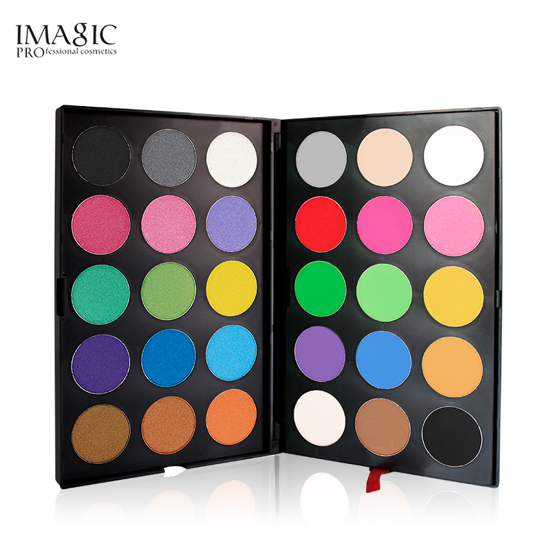 IMAGIC Professional 30 Color Eyeshadow Palette Shimmer Mattes