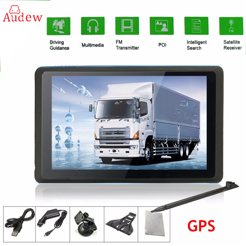 5 inch HD Car GPS Navigation CPU 800MHZ FM/8GB/DDR3 Maps For Europe/US/AU TRUCK Navi /Camper Caravan 5 inch hd car gps navigation cpu 800mhz fm 8gb ddr3 maps for europe us au truck navi camper caravan