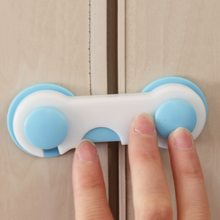 1Pcs Baby Kids Safety Lock Care Prevent Child From Opening Cupboard Doors Cabinet Drawer Refrigerator Toilet Door Closet(China)