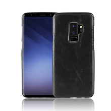 Luxury leather Case For Samsung Galaxy S9 Soft TPU+PU Leather Paste skin Cover Plus S9+