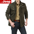Free shipping new 2016 winter outdoors brand military jacket men pockets stand collar design plus size 4xl casual coat men /mdy6
