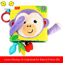 Baby Soft Cloth Book Infant Early Cognitive Development Educational  Book Interactive Books for Children Feelie Baby Books 2018 infant early cognitive development my quiet books soft books baby goodnight educational unfolding cloth books activity book
