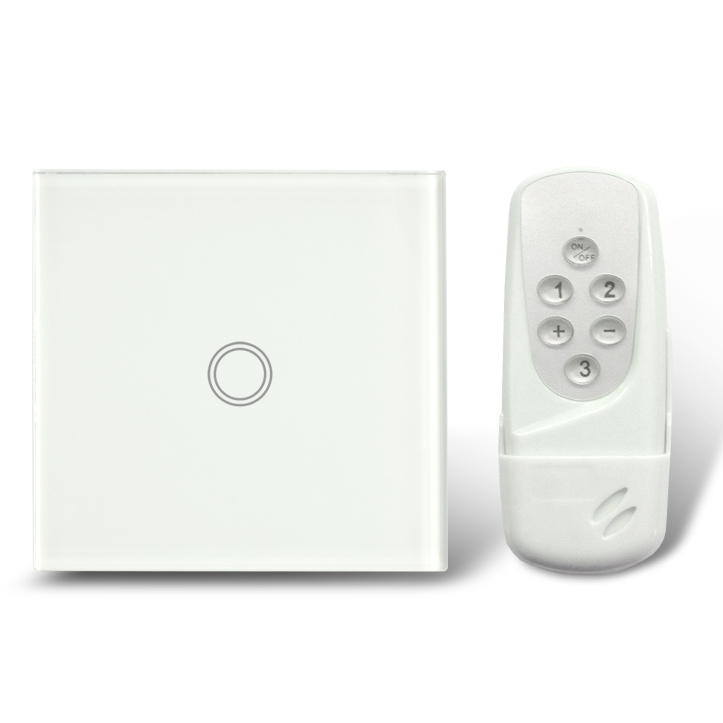 EU smart home domotica house automation touch rf433 switch gsm socket controle remote control light switch LED indicator eu 1gang smart home domotica remote control light switch wireless remote glass panel switch automatic touch screen lamp switch