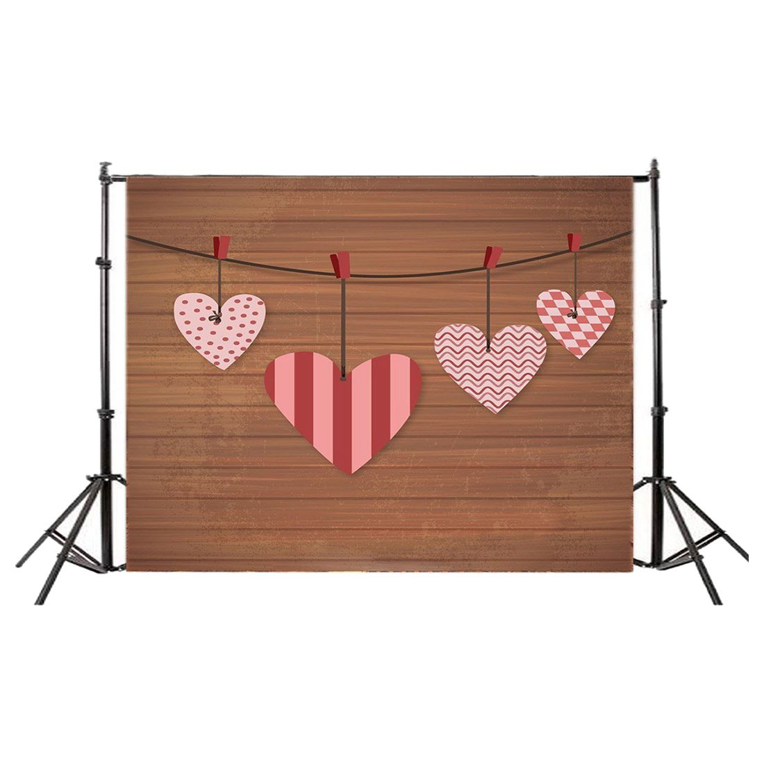 Топ предложения 5X3FT День Святого Валентина винил фотографии фон фото фон студии реквизит