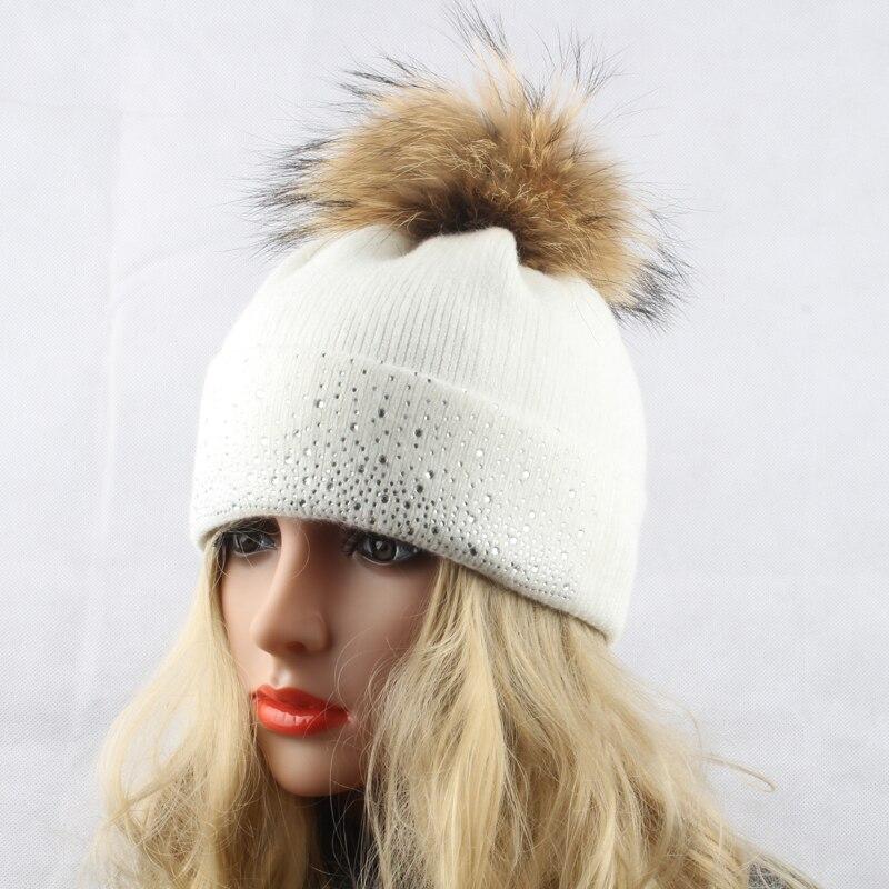 Women Wool Warm Real