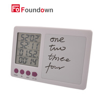 Free Shipping Digital Timer Large LCD 4 Channel Digital Timer Kitchen Timer Count Down Up Timer
