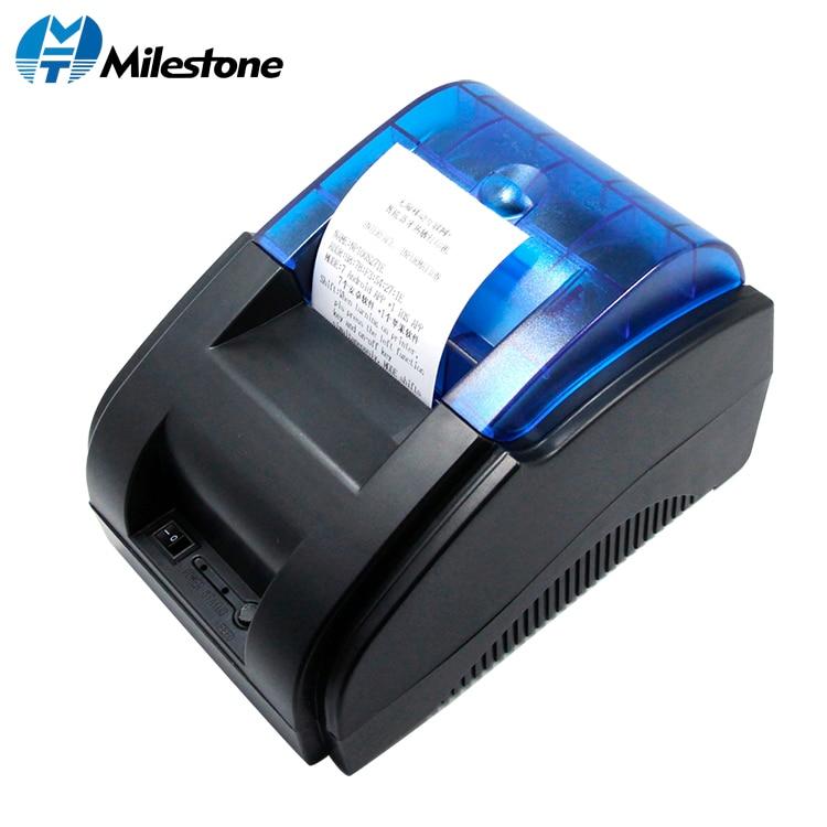 Hito impresora térmica directa de fábrica hecho de 2 pulgadas con cable de escritorio térmica impresora de recibos MHT-P58A/P58B para sistema de POS