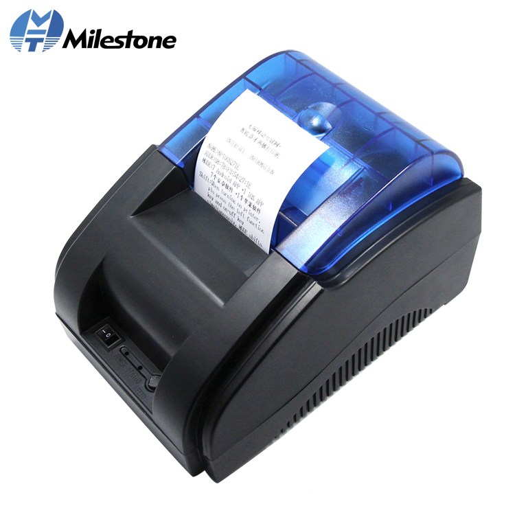 Milestone Thermal Printer Direct Factory Made 2inch Wired Desktop Thermal Receipt Printer MHT-P58A/P58B for POS System