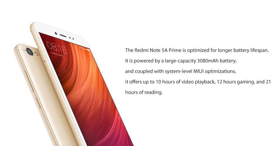 Redmi Note 5A Note5A Pro Prime 8