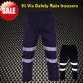 Hi vis work rain trousers rain pant work pants