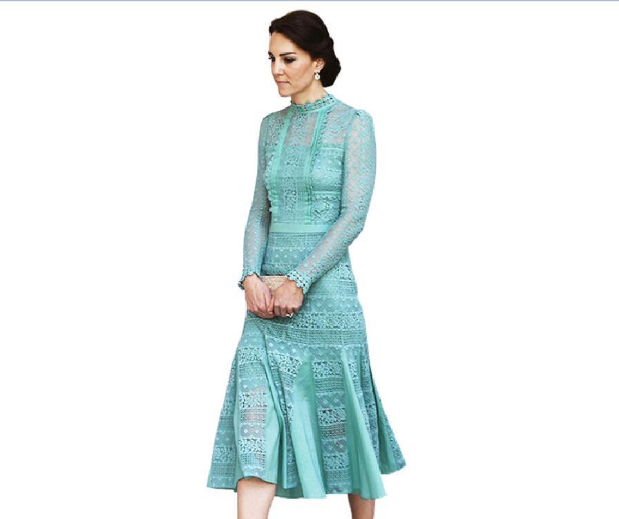 High Quality Kate Middleton Dress 2017 Spring Summer ...