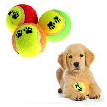 1 piece Tennis Ball Pet Toy Tennis Ball Dog Chew Toy Signature Mega Jumbo Kids Toy Ball Outdoor Supplies