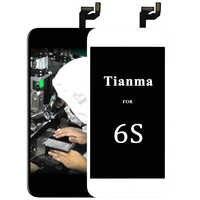 10 piezas mejor Chian Tianma para la pantalla LCD del iphone 6 S con el reemplazo del ensamblaje del digitalizador de la pantalla táctil 3D para el iphone 6 S pantalla