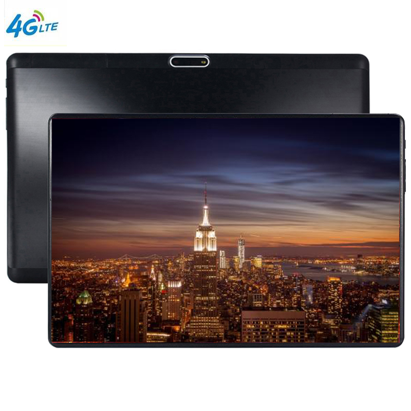 THE S119 10 Inch Tablet PC MTK8752 Octa Core 4GB RAM 64GB ROM Dual SIM 8.0MP GPS Android 7.0 1280*800 IPS The Tablet Kids 4G LTE
